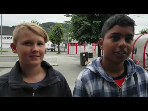 Pokemonjakt i Flekkefjord
