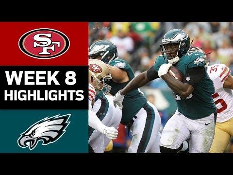 49ers vs. Eagles | NFL Week 8 Game Highlights - Thời lượng: 6:39.