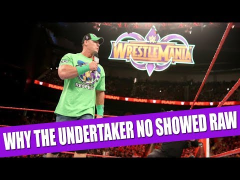 The Real Reason The Undertaker Didn't Respond To John Cena!