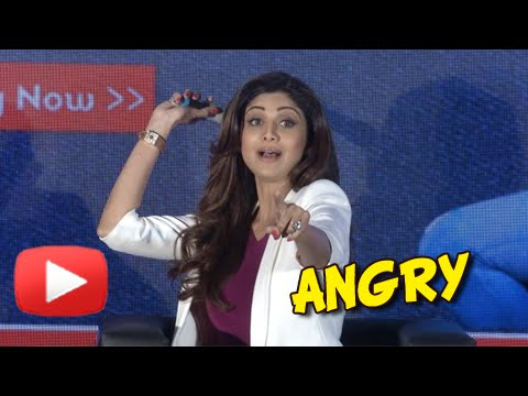 Shilpa Shetty Gets Angry On A Journalist On Being