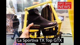 Легкие трекинговые ботинки с гетрой La Sportiva TX Top GTX