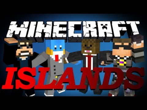 HILARIOUS FAIL Minecraft The Islands PVP w/ SkyDoesMinecraft, HuskyMudkipz, and Ssundee