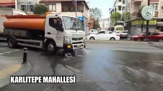 Karlıtepe Mahallesi Dezenfekte Çalışmaları