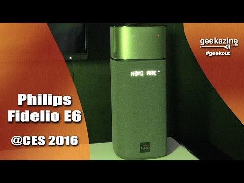 Philips Fidelio E6 Wireless Surround 5.1 Speakers