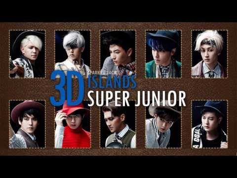 [3D \\ Use Headphones] Super Junior _ Islands (видео)