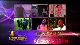 AFRICA GOSPEL MUSIC AWARDS 2013   THE OFFICIAL PROMO