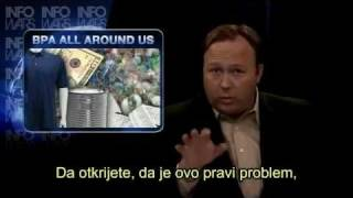 Alex Jones - Bisfenol A, smrt od plastike