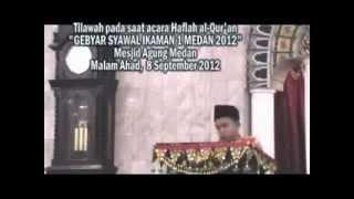 Qari Anak-anak : Raghib Muhammad Sakho Lubis bin H.Yasir Arafat Lubis