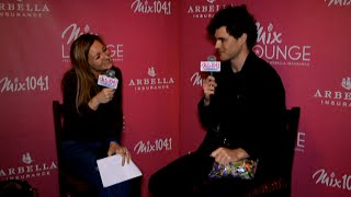 Before heading back to Australia for a well-deserved break, Vance Joy sat down with Erin O'Malley during our Mix Lounge to chat about his time on the road, what he has planned next, what it was like touring with Taylor Swift, and his admiration for Ed Sheeran.