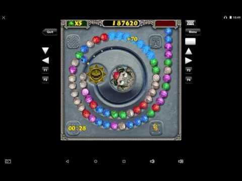 Zuma Palm OS Playthrough