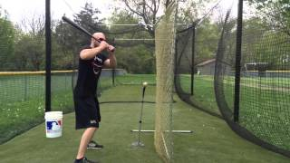 Fence Hitting Drill for Bat Path and Rollover Fix