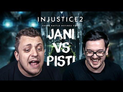 Twitch - Jani vs Pisti: Injustice 2