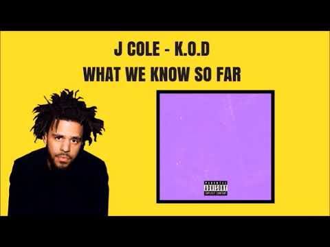 """J.COLE'S NEW ALBUM """"K.O.D"""" - WHAT WE KNOW SO FAR"""