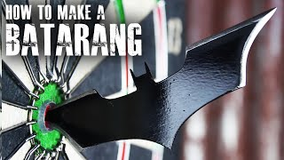 How to make a Batarang like The Dark Knight by The King of Random