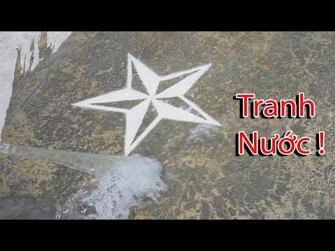 NTN - Thử Vẽ Tranh Bằng Nước ( Water Painting ) - Thời lượng: 4 phút, 22 giây.