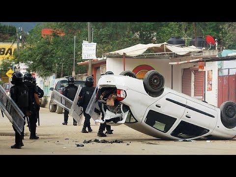 Μεξικό: Νεκροί και τραυματίες σε συγκρούσεις αστυνομίας- εκπαιδευτικών