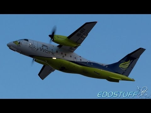 Split Airport SPU/LDSP - Half Hour of Plane Spotting - Episode 2