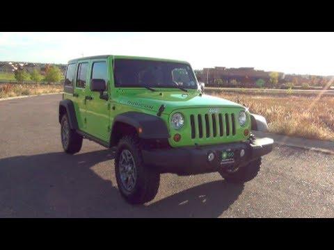 2013 Jeep Wrangler Rubicon Review
