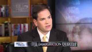 Rubio Talks Immigration, Obama, Romney, SB 1070, the DREAM Act, and Veepstakes