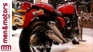 10. Bruno Tagliafferri Talks About The Triumph Thunderbird Sport