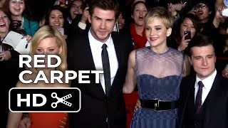 The Hunger Games: Catching Fire LA Premiere Red Carpet (2013) - Movie HD