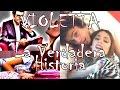 La verdadera historia de Violetta - Disney Channel