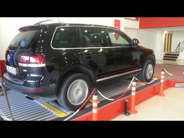 Volkswagen Toureg Ekspertiz