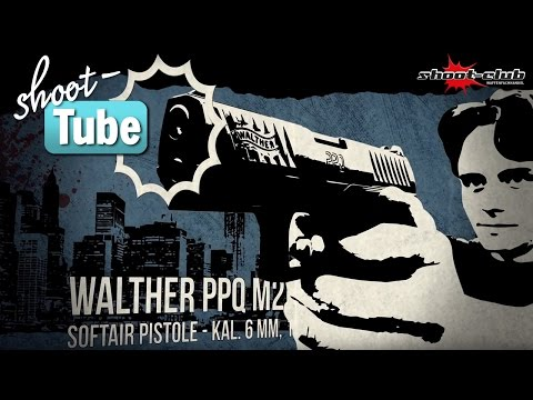 Walther PPQ Airsoft, 6mm, GBB - shoot-club Test