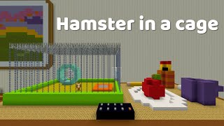 Stampy Short - Hamster in a cage