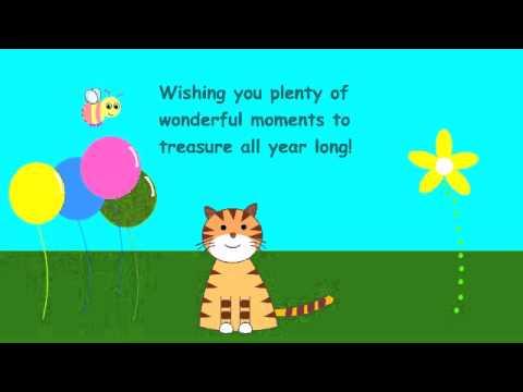 Video of Happy Birthday Greetings