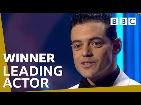 شاهد لحظة فوز رامي مالك بجائزة بافتا أفضل ممثل عن Bohemian Rhapsody