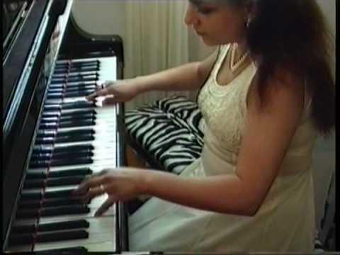 Rimsky-Korsakov, Nikolai - Flight of the bumblebee (Anjelika Mounzer) (видео)