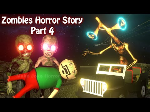 Zombies Horror Story Part 4 | Siren Head Game | Cartoon Movies | Best Animated Movies | 3d Animation