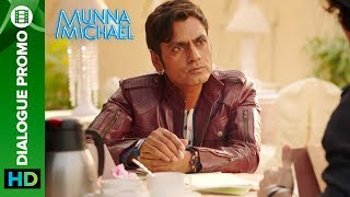 "You can download the Munna Michael game here: https://play.google.com/store/apps/details?id=com.erosnow.MunnaMichaelCheck out the other exclusive videos of ""Munna Michael"" here: http://bit.ly/MunnaMichaelOfficialVideosWatch Mahindar Bhai aka Nawazuddin Siddiqui ask Munna aka Tiger Shroff play cupid in this dialogue promo from Munna Michael.Movie: Munna MichaelCast: Tiger Shroff, Nawazuddin Siddiqui & Nidhhi AgerwalDirected By: Sabbir KhanProduced By: Eros International & Viki Rajani""Munna Michael"" releases in theaters on 21st July, 2017.To watch more log on to http://www.erosnow.comFor all the updates on our movies and more:https://www.youtube.com/ErosNowhttps://twitter.com/#!/ErosNowhttps://www.facebook.com/ErosNowhttps://www.facebook.com/erosmusicindiahttps://plus.google.com/+erosentertainmenthttp://www.dailymotion.com/ErosNowhttps://vine.co/ErosNow http://blog.erosnow.com"
