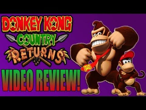 preview-Donkey Kong Country Returns Review