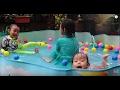 Lifia Niala Berenang Asyiknya Kolam Renang Anak Bayi Plastik Murah