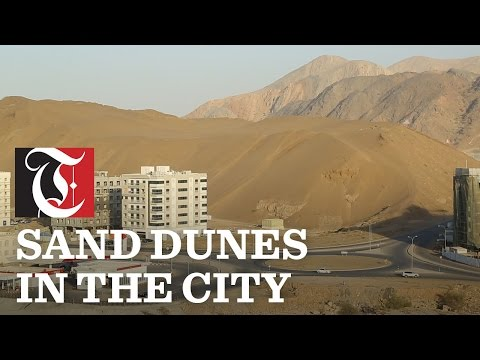You don't have to go far out into the desert for dune bashing.