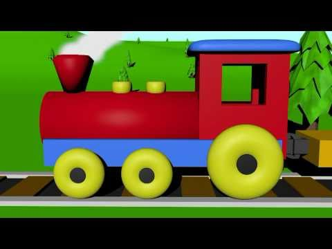 Train - A short video showing English numbers from zero to 10 with examples for counting and read by children. Count the boxes from none to 10 on the color train! Ea...