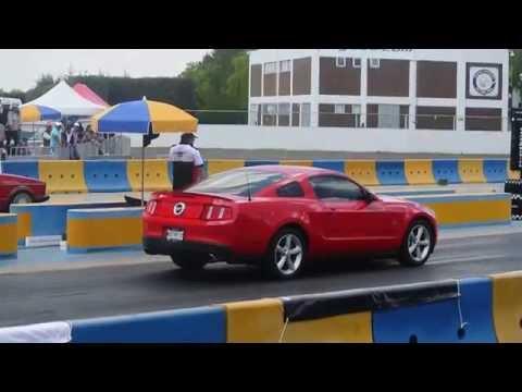 Mustang GT 4.6l vs Caribe. Arrancones Pegaso, marzo 22 2015