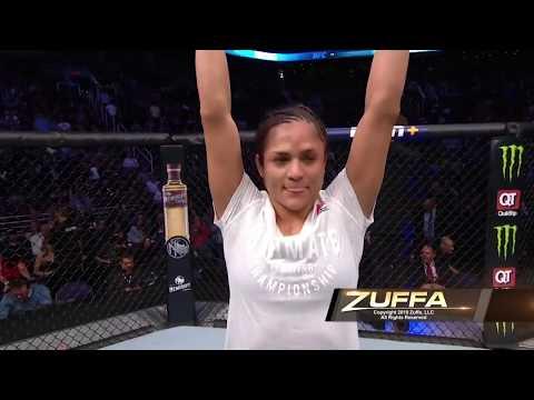 Latino Athlete Cynthia Calvillo defeats Cortney Casey at UFC