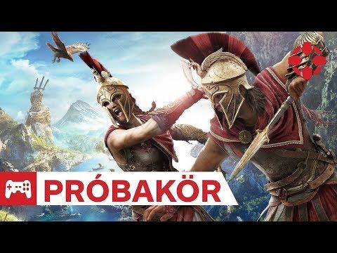 Görög bérgyilkostúra - Assassin's Creed Odyssey próbakör