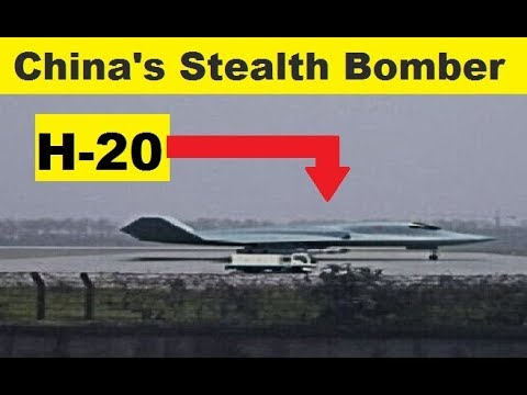 The Xian H-20 is a subsonic stealth...