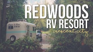 Crescent City (CA) United States  city photos : Redwoods RV Resort in Crescent City, California - a Drivin' & Vibin' Travel Vlog