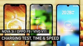 Download Video Huawei Nova 3i / Oppo F9 / Vivo V11 Charging Test | Zeibiz MP3 3GP MP4