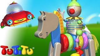 TuTiTu حصان خشبي