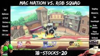 Mac Nation vs. ROB Squad – WiFi Crew Battle (ft. Sol, Alphicans, MisterEric, SlugKing and more)