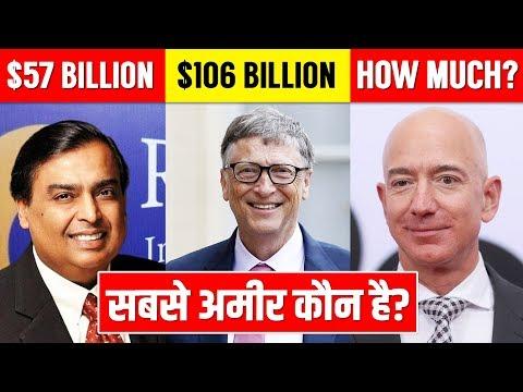 सबसे अमीर कौन है?? Top 10 Richest Man in the World 2019-2020