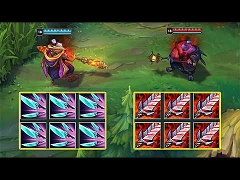 6x NAVORI QUICKBLADES vs BLOODTHIRSTER JAX - League of Legends