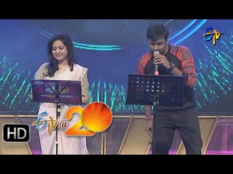 Hemachandra-Sunitha-Performance-Cheli-Chamaku-Song-in-Gunturu-ETV-20-Celebrations