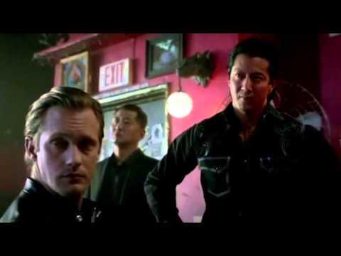 True Blood Season 7 Episode 8 - Eric pretends to glamour Sookie